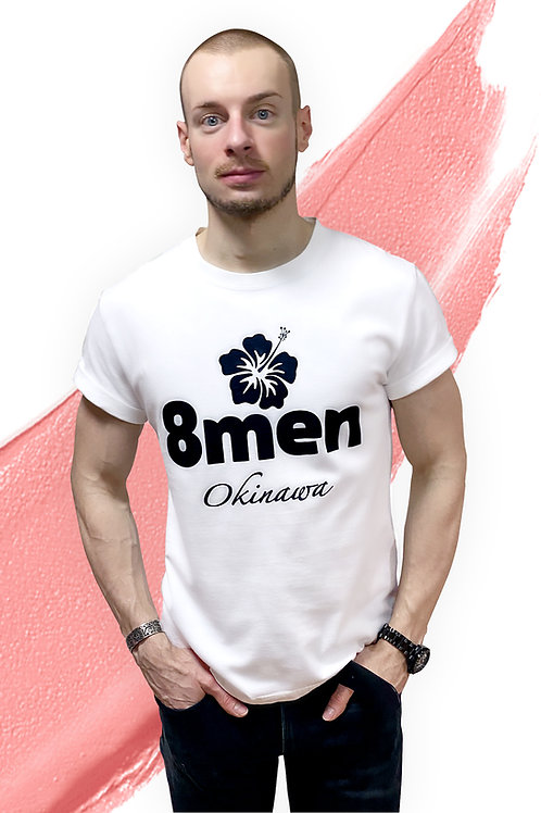8MEM WHITE T-shirt
