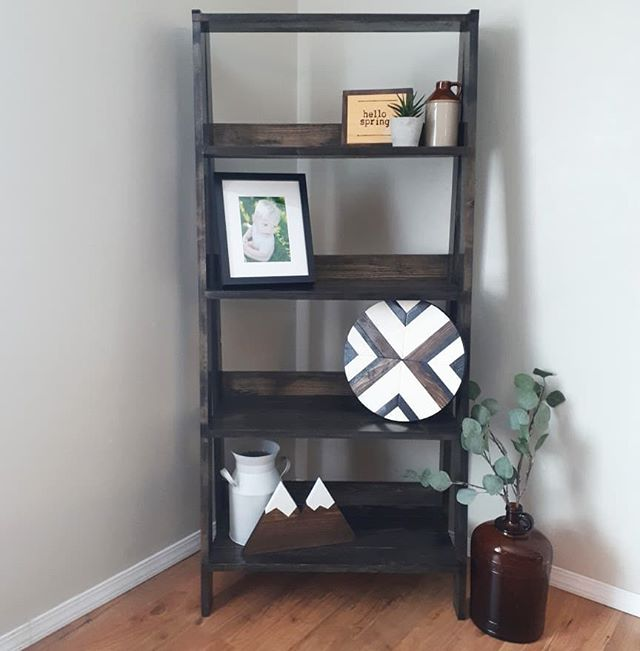 New product! Ladder shelf in ebony