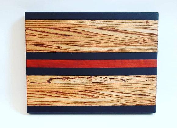 """""""Sizzle"""" Hardwood Cutting Board"""