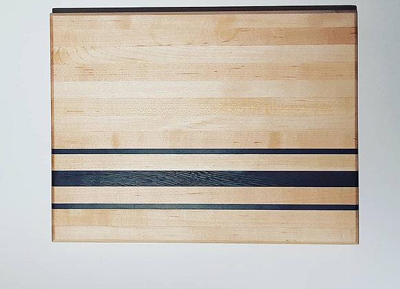 """Hint of Ebony"" Hardwood Cutting Board"