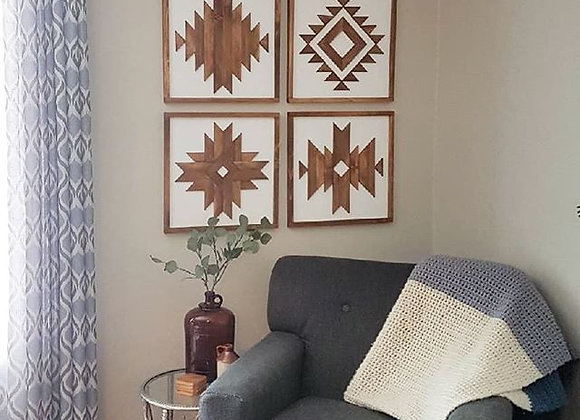 Quad set Geometric Art
