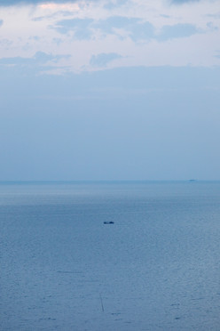 Faraway boat