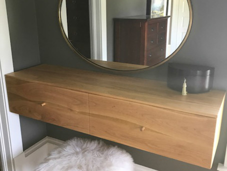 Huge cherry dressing table