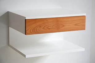 floating nightstand shelf