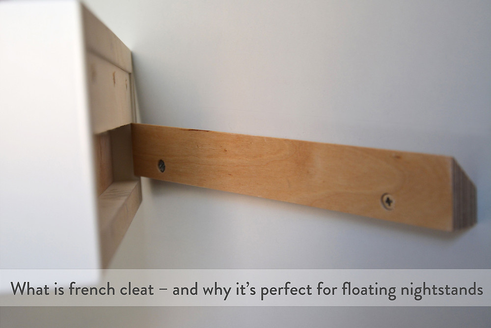 how to mount a floating bedside table