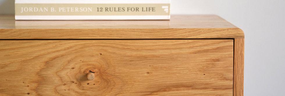 oak nightstand