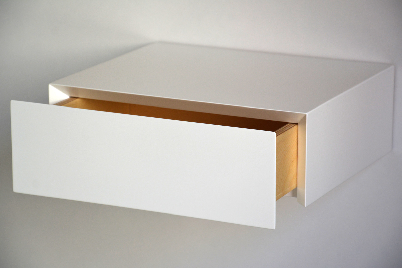 Minimalist Floating Nightstand Floating Nightstand