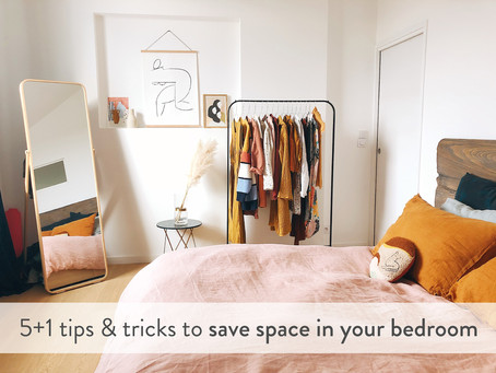 5+1 tips and tricks to save space in your bedroom