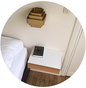 minimalist wall mounted drawer