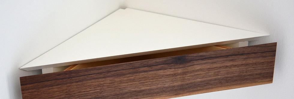 corner floating shelf
