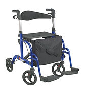 NewTCH101_TransportChair_Blue_Front_RET.