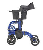 NewTCH101_TransportChair_Blue_Side_Folde