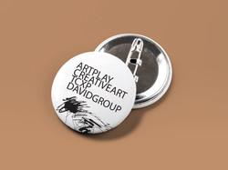 ArtPlay Pin Badge Button