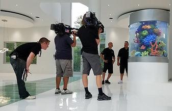 Akon Tanked Aquarium Filming