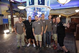 Tanked Aquarium Installation