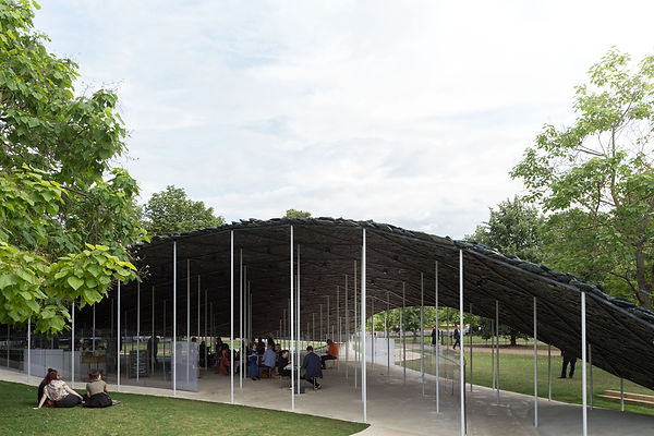 Serpentine Pavilion 2019 by Ishigami
