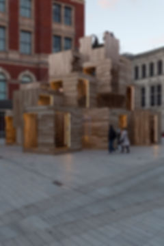 V&A MultiPly Wooden Structure