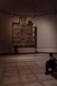 Raphael Cartoons in the Victoria & Albert Museum Altarpiece Scenic Light