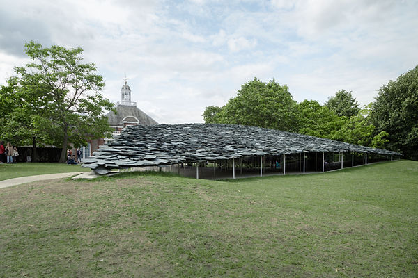 Serpentine Pavilion 2019 Junya Ishigami overview park gallery