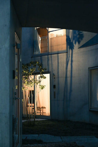 Okurayama Apartments in Scenic and Moody Light