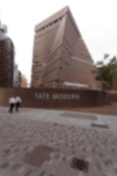 Tate Modern Switch House with Brick Facade