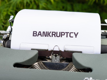 The bankruptcies come at the end of the year