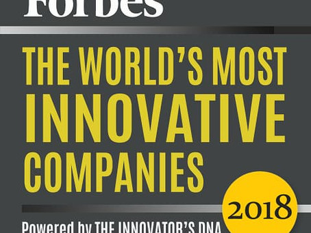 """Forbes Recognizes Experian among """"World's Most Innovative Companies"""" in 2018"""