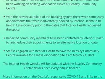 Covid-19 Immunization Roll Out