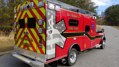 2021 Ram 5500 Ambulance Remount Delivery