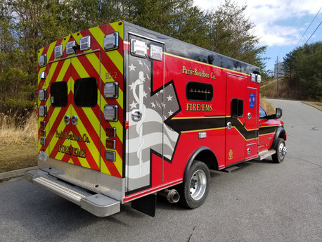 2021 Ram 5500 Ambulance Remount Delivery