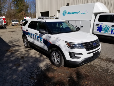 Police Transport Conversions Display Custom Art