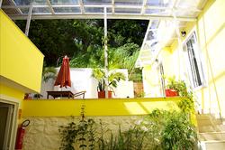 Rear patio area.