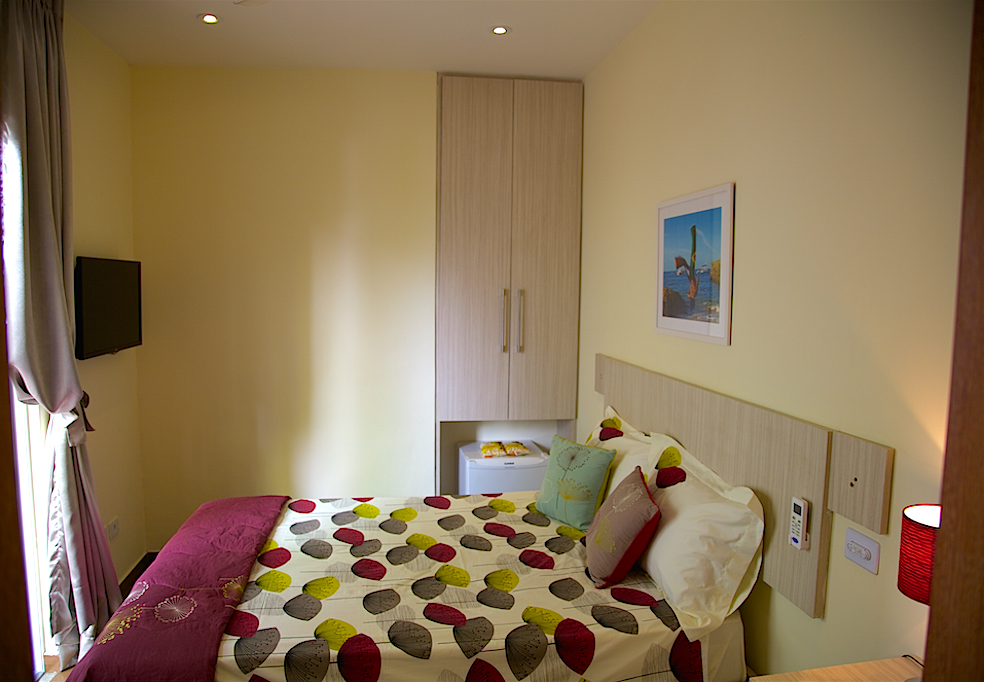 Small double room.