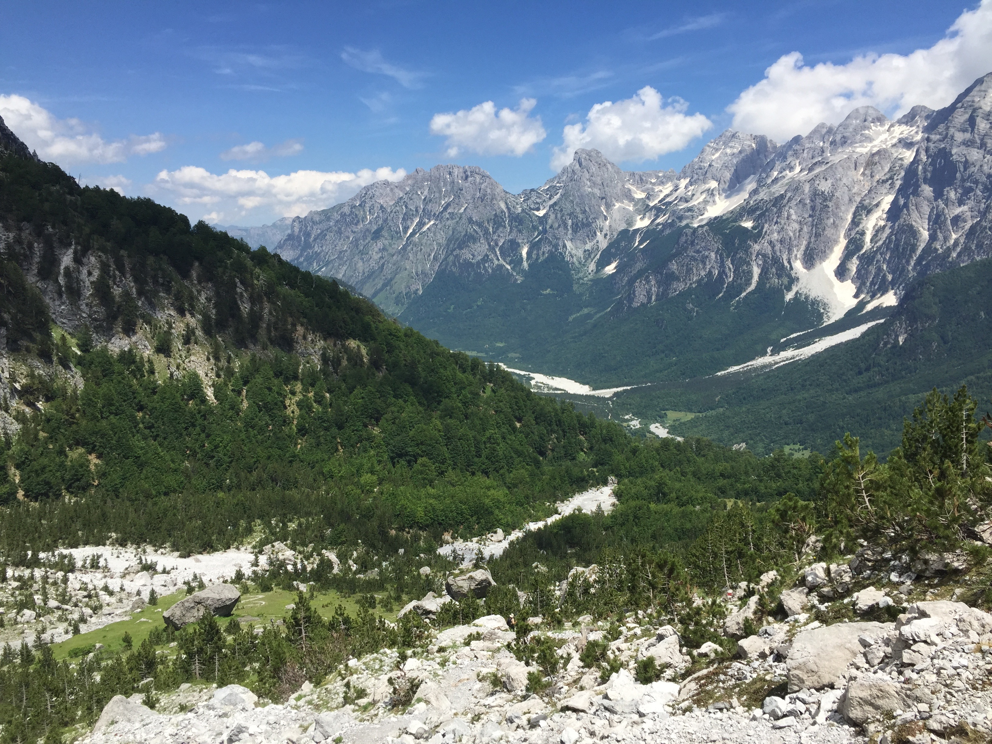 Trekking nella Valle di Valbona