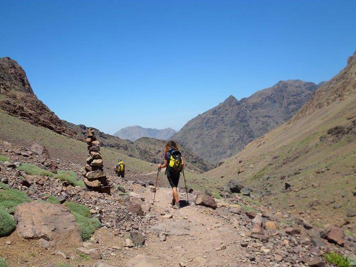 Jebel|Toubkal|Marocco|Trekking