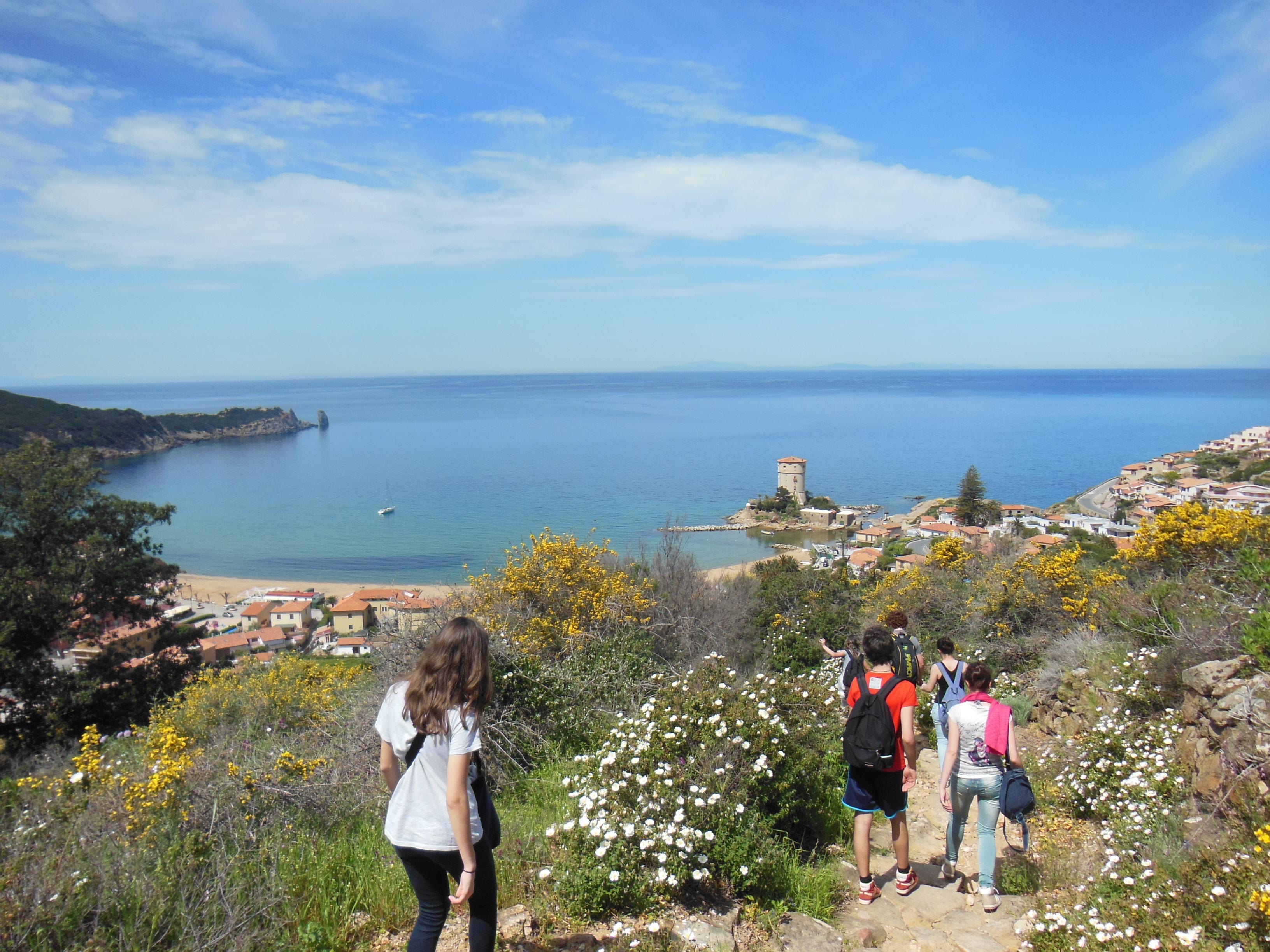 Viaggi Trekking isola Giglio