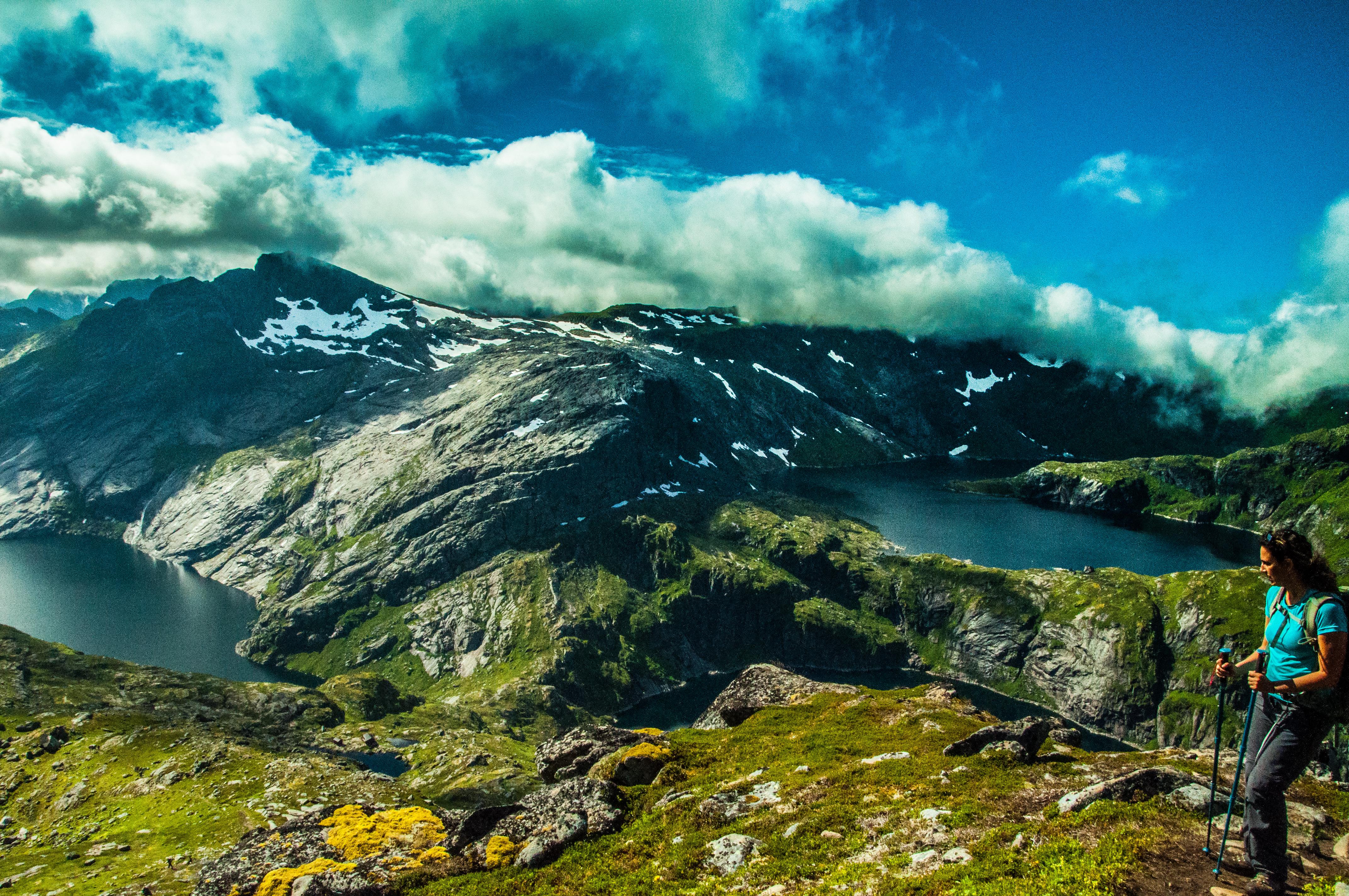 treking isole lofoten   Reine