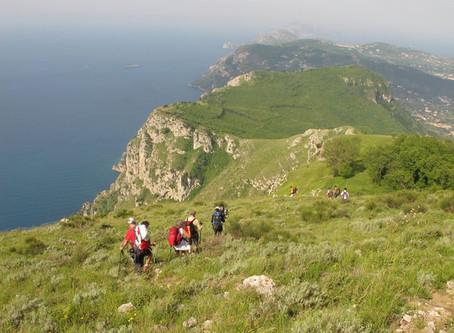 Le bellezze del Trekking in Penisola sorrentina, parte prima