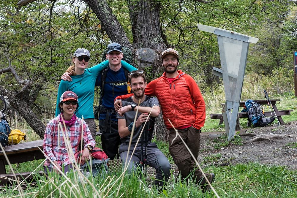 Escursioni con amici nella Patagonia cilena