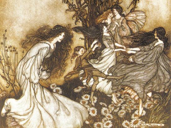 Arthur-Rackham-Fairies-sogno-di-una-notte-di-mezza-estate