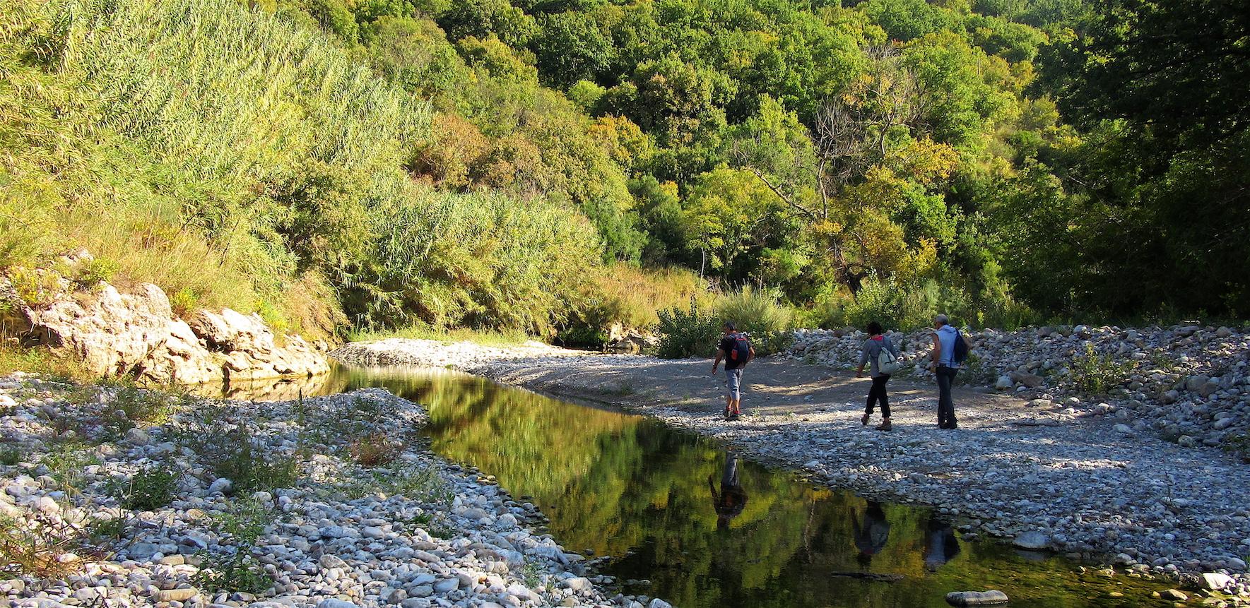 Acquatrek tra Maremma e Val d'Orcia