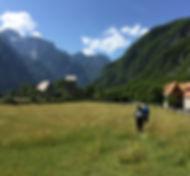 In cammino in Albania.JPG