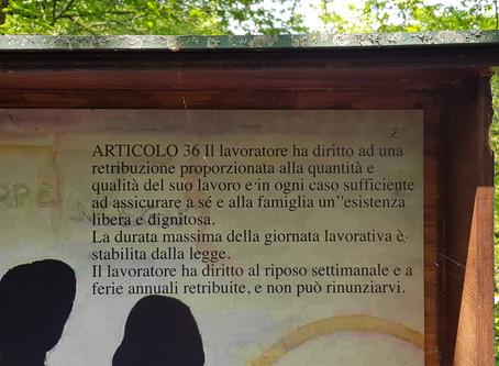 Il Sentiero della Costituzione - idee per trekking a Maggio