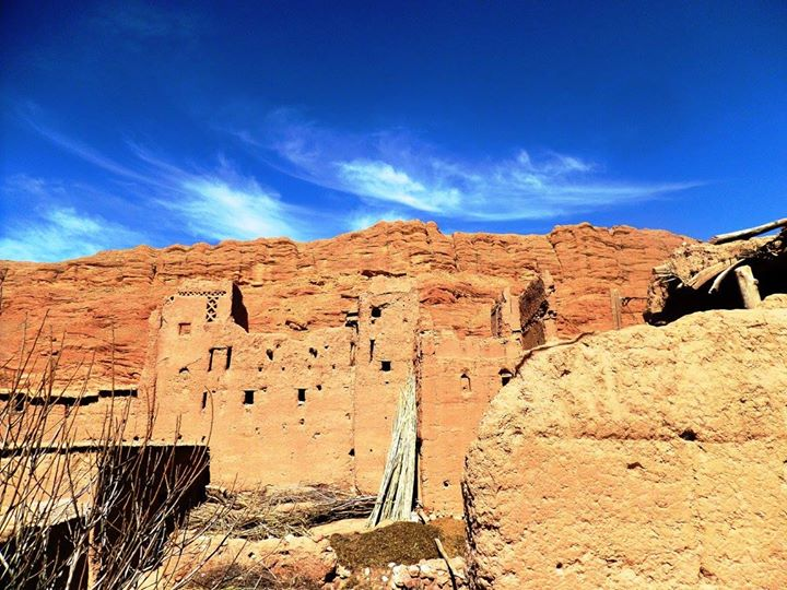 viaggio a piedi in Marocco   kasba