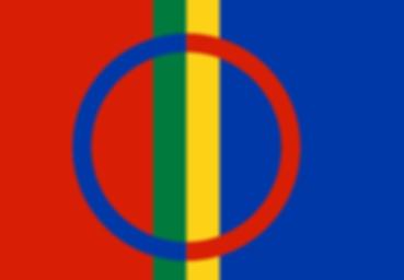 Bandiera nazionale popolo Sami