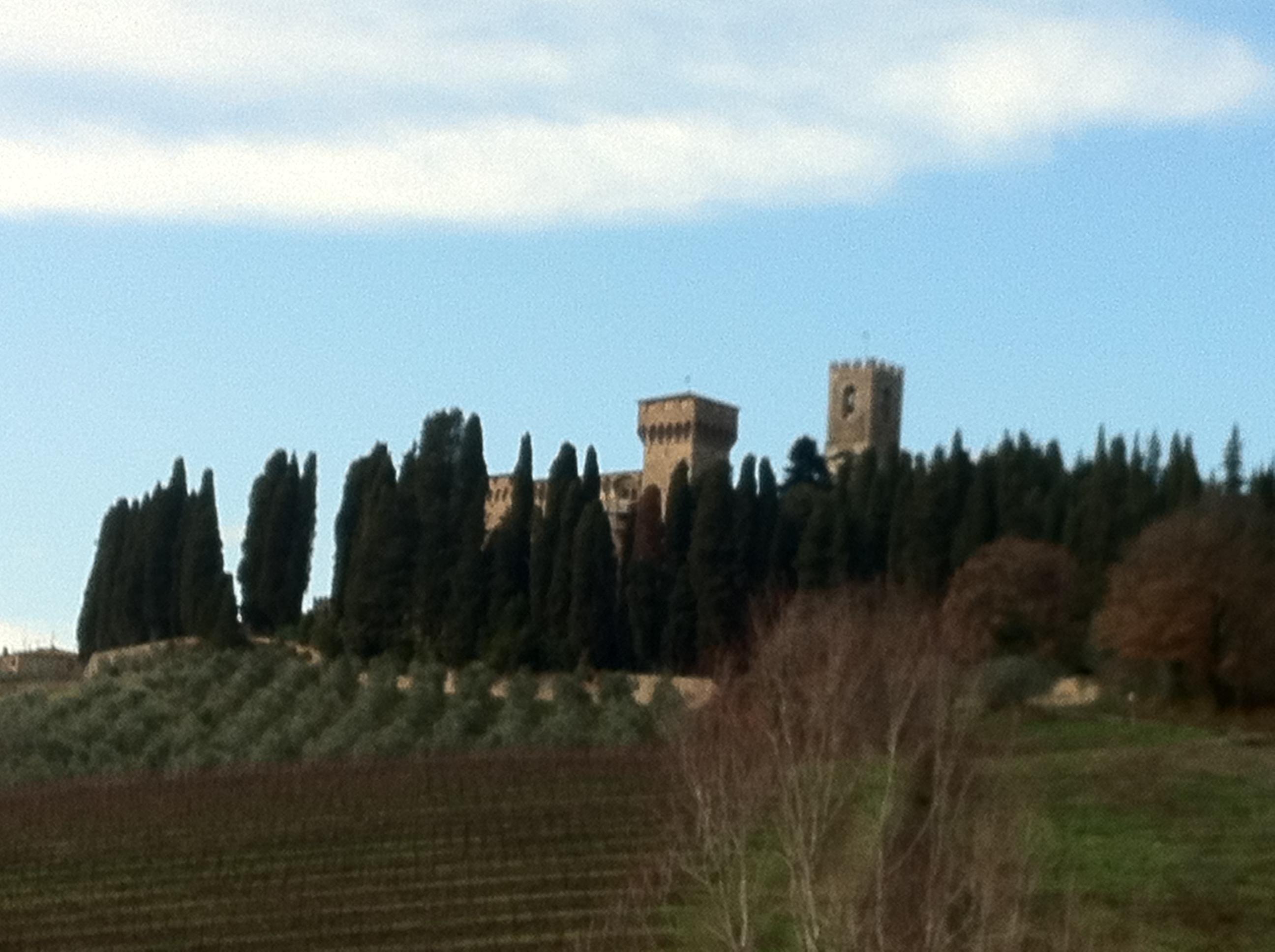 Badia a Passignano sulla via Romea