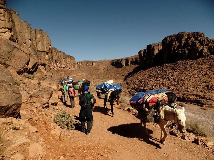 Viaggio a piedi in Marocco