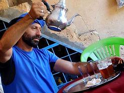 Trekking in Marocco | Jebel Toubkal |l'immancabile tè alla mentra prima i partire per il trekking