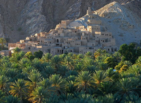 Trekking in Oman, racconto di un sopralluogo