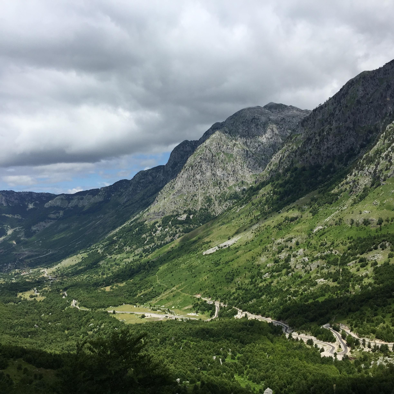 Le Alpi albanesi
